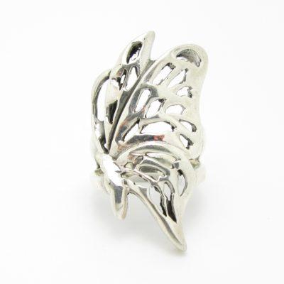 Bague argent papillon BA1-0054